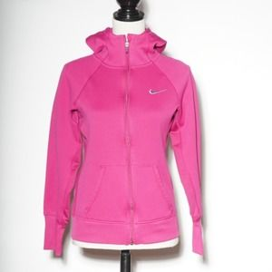 Nike Therma Fit Zip Up Hoodie Pink